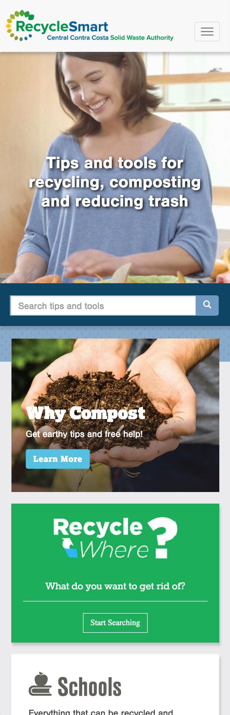 RecycleSmart mobile