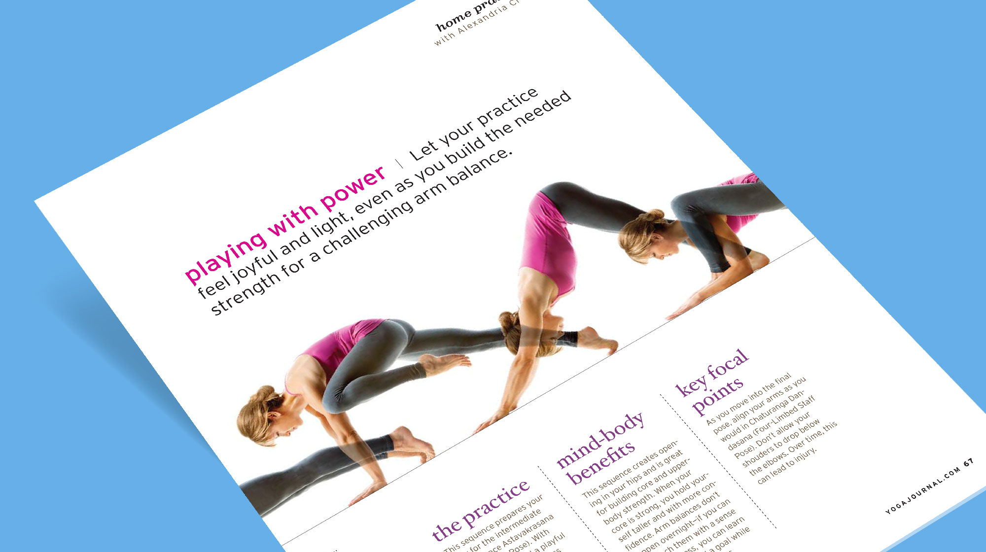 Yoga Journal Magazine